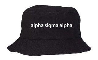Alpha Sigma Alpha Bucket Hat