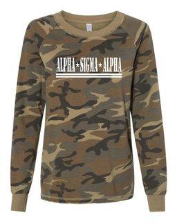 Alpha Sigma Alpha Camo Crew