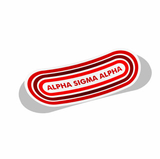 Alpha Sigma Alpha Capsule Decal Sticker