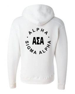 Alpha Sigma Alpha Circle Hoodie