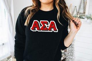Alpha Sigma Alpha City Greek Sweatshirt