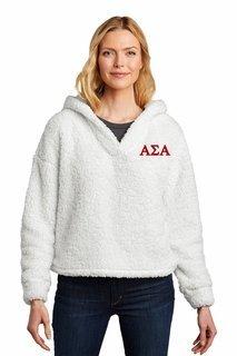Alpha Sigma Alpha Cozy Fleece Hoodie