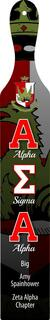 Alpha Sigma Alpha Custom Full Color Paddle