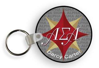 Alpha Sigma Alpha Custom Mascot Keychains
