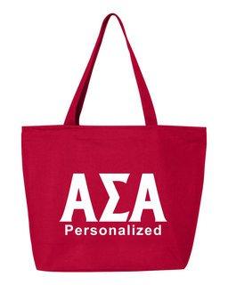 Alpha Sigma Alpha Design Your Own Tote Bag