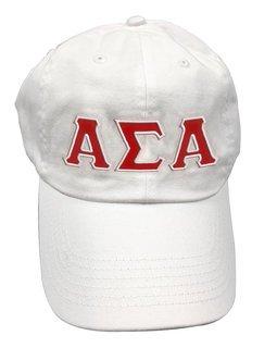 Alpha Sigma Alpha Double Greek Letter Cap