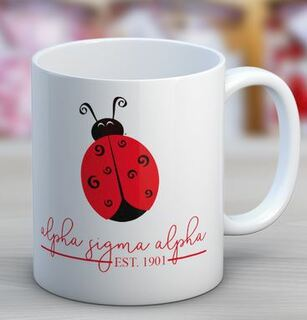 Alpha Sigma Alpha Established Coffee Mug