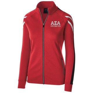 Alpha Sigma Alpha Flux Track Jacket