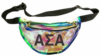 Alpha Sigma Alpha Holographic Fanny Pack