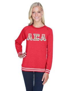 Alpha Sigma Alpha J. America Relay Crewneck Sweatshirt