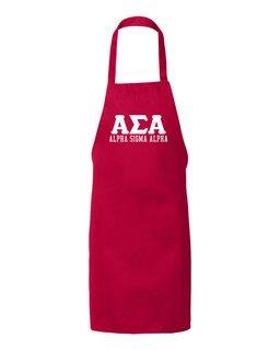 Alpha Sigma Alpha Large Apron