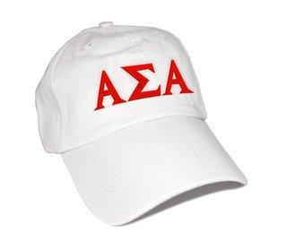 Alpha Sigma Alpha Letter Hat