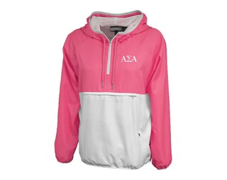 Alpha Sigma Alpha Letters Anorak