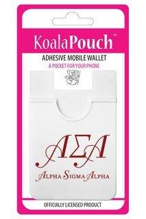 Alpha Sigma Alpha Logo Koala Pouch