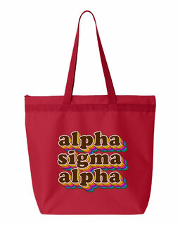 Alpha Sigma Alpha Maya Tote Bag