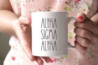 Alpha Sigma Alpha MOD Coffee Mug
