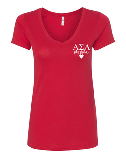 Alpha Sigma Alpha Mom Ideal V-Neck