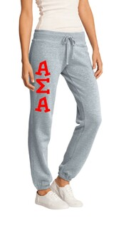Alpha Sigma Alpha Junior Core Fleece Pant