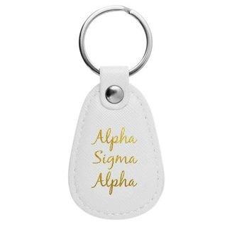 Alpha Sigma Alpha Retro Key Chain