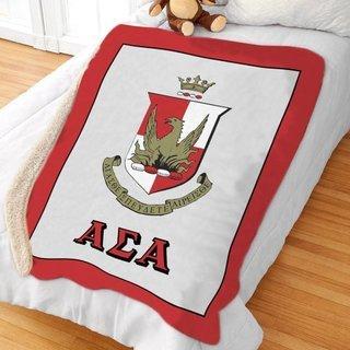 Alpha Sigma Alpha Sherpa Lap Blanket