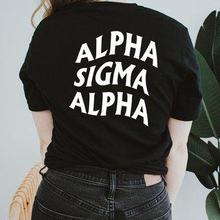 Alpha Sigma Alpha Social Tee