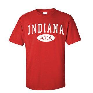 Alpha Sigma Alpha State T-Shirts