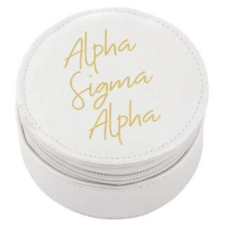 Alpha Sigma Alpha Travel Round Case
