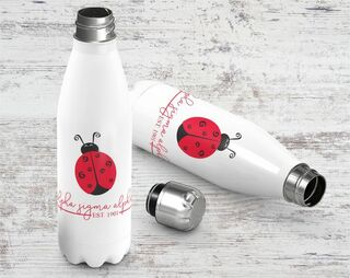 Alpha Sigma Alpha Established Stainless Steel Water Bottle