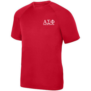 Alpha Sigma Phi- $19.95 World Famous Dry Fit Wicking Tee