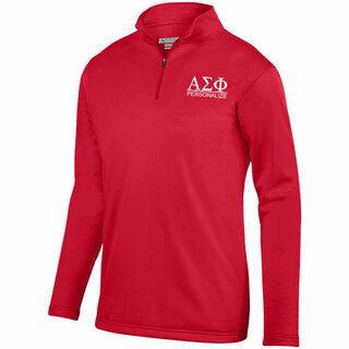 Alpha Sigma Phi- $39.99 World Famous Wicking Fleece Pullover