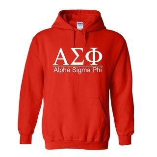 Alpha Sigma Phi bar Hoodie