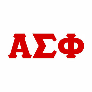 Alpha Sigma Phi Big Greek Letter Window Sticker Decal