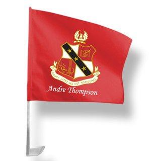 Alpha Sigma Phi Car Flag