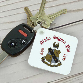 Alpha Sigma Phi Color Keychains