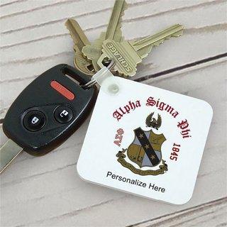 Alpha Sigma Phi Color Keychains