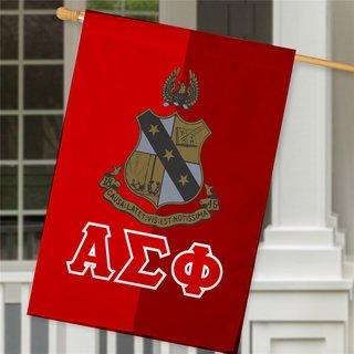 Alpha Sigma Phi Crest House Flag