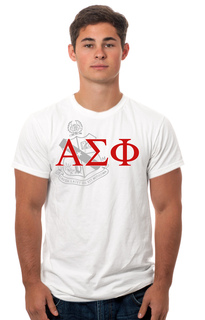 Alpha Sigma Phi Crest - Shield Tee