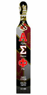 Alpha Sigma Phi Custom Full Color Paddle