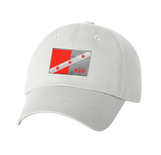 CLOSEOUT - Alpha Sigma Phi Flag Patch Baseball Hat