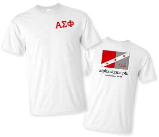 Alpha Sigma Phi Flag T-Shirt