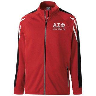 Alpha Sigma Phi Flux Track Jacket