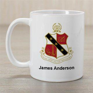 Alpha Sigma Phi Greek Crest Coffee Mug - Personalized!