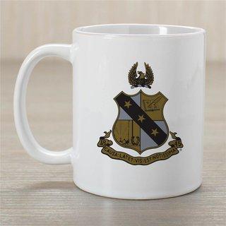 Alpha Sigma Phi Greek Crest Coffee Mug