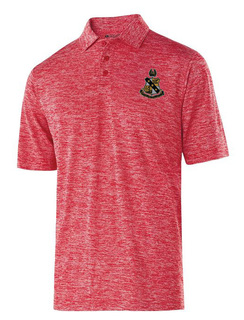 Alpha Sigma Phi Greek Crest Emblem Electrify Polo