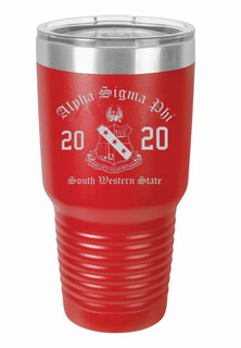 Alpha Sigma Phi Insulated Tumbler