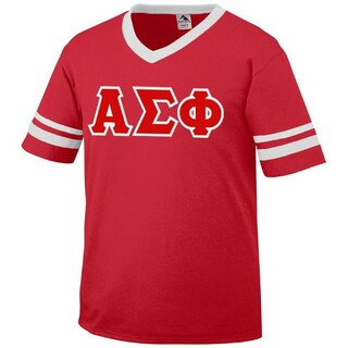 DISCOUNT-Alpha Sigma Phi Jersey With Custom Sleeves