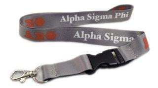 Alpha Sigma Phi Lanyard