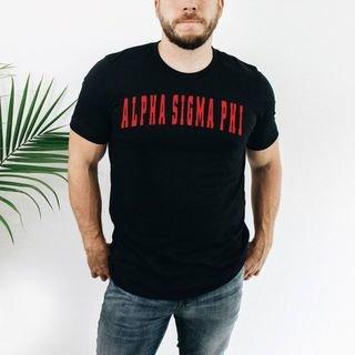 Alpha Sigma Phi letterman tee