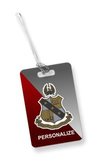 Alpha Sigma Phi Luggage Tag