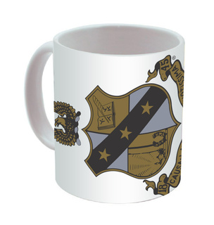Alpha Sigma Phi Mega Crest - Shield Coffee Mug